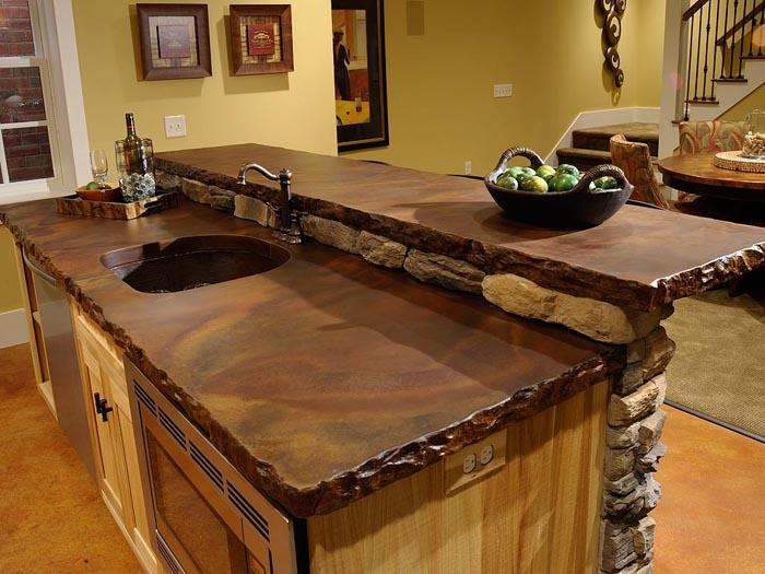 Kitchen cabinets door styles - Countertop Materials New Jersey Concrete Countertops